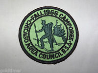 VINTAGE BSA BOY SCOUT PATCH 1966 CHICAGO AREA COUNCIL FALL CAMPOREE