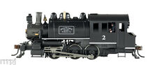 HO BACHMANN  0-6-0  STEAM LOCO W/  DCC TRAIN  # 81814 MQ&MC MIDWEST QUARRY & MIN