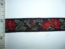 Embroidery Lace Trim Sew on, Jacquard Trimming Tape 4yds, Ribbon Trim Fringe
