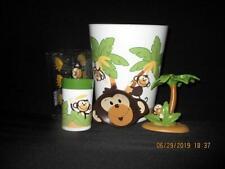 Saturday Knight  5PC  Monkey Town Bath/Bathroom Set *New*