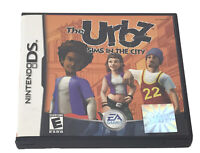 Nintendo DS The Urbz Sims In The City Game Card Case and Manual