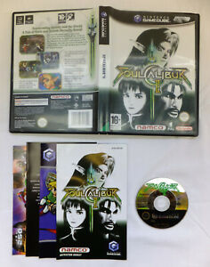 SOUL CALIBUR II GAME FOR NINTENDO GAMECUBE - FULLY COMPLETE GOOD CONDITION