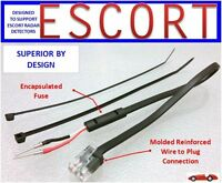 Redline Radar Detector  ESCORT,Direct Mirror Power Cord     (MP-ESCT)