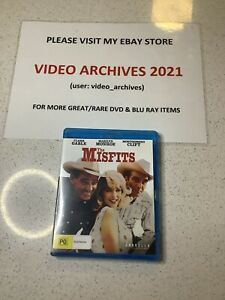 The Misfits (Blu-ray, 2014)  Australian Region B - Free Postage