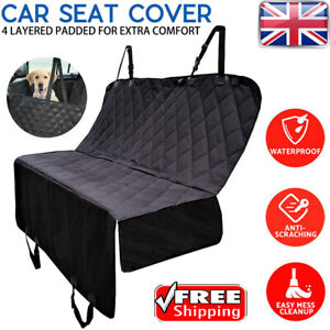 Protective Dog / Pet Cover Blanket For Rear Car Seat Oxford Material UK STOCK GT