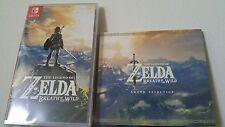 Legend Zelda Breath of the Wild CD Sheikah I Coin Nintendo Switch Master Edition