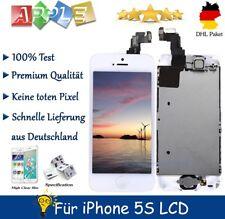 Display für iPhone 5S mit RETINA LCD Glas VORMONTIERT Komplett Front Weiss White