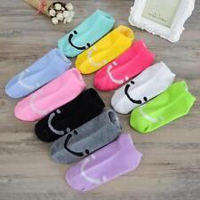 5Pairs Women's Fashion Cute Boat Cotton Socks Gift Smile Cartoon Low Cut Socks_N