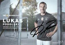 Autogramm - Lukas Podolski (DFB AK 2016)
