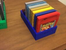 Blue 3D Printed Game Boy Advance and Game Boy Color Cartridge Holder / Stand