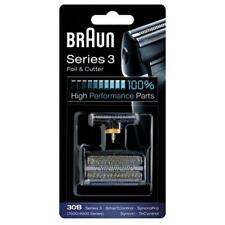 Braun 30B Series 3, 4000, 7000, Syncro Series replacement Foil & Cutter Pack