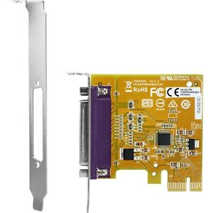 NEW OPEN BOX! HP PCIe x1 Parallel Port Card N1M40AA