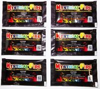 "Mystical Fire Campfire Fireplace Colorant Color Flame Camping 6 Pack ""NEW"""