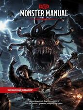 Dungeons & Dragons MONSTER MANUAL by Wizards of the Coast RPG Team (Hardcover)