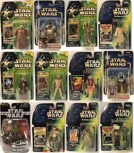 STAR WARS FIGURES Mixed Lot, Aliens, Tusken Raider, Ugnaughts, Mas Amedda, More!