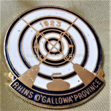 RHINS O'GALLOWAY PROVINCE CURLING CLUB SCOTLAND Pin