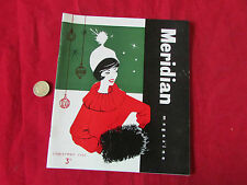 Meridian  Magazine House Journal  NOTTINGHAM  Christmas 1960 / 60  Lovely Cover