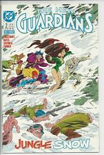New Guardians 2 (1988) -NM (9.4) 1st Snowflame