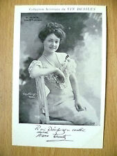 Postcards of Edwardian Theatre & Opera Stars- M. LECONTE COMDIE FRANCAISE
