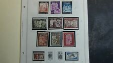 Andorra stamp collection on Minkus pages to '2000 w/ 100's fr/ sp