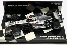 McLaren Mercedes MP4/20 Juan Pablo Montoya 2005 Minichamps 1:43