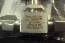 "(NEW)      SS-42GS4 Swagelok 316 Stainless Steel Ball Valve 1/4""  2500PSIG"