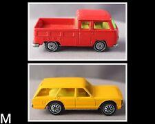 {M} SIKU W Germany/ VW Volkswagen Pickup Bus 1331 Red +Ford Granada Turnier 1322