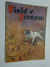 1940 FIELD & STREAM MAGAZINE February Quail Hunting Dog