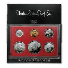 1981 U.S. Proof Set - SKU #1161