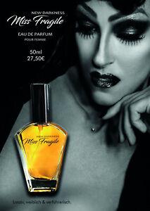 """Miss Fragile """"New Darkness"""", Eau de Parfum pour Femme, 50ml"""