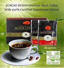 Organic Ganoderma lucidum instant black coffee Reishi Coffee 30 Sachets