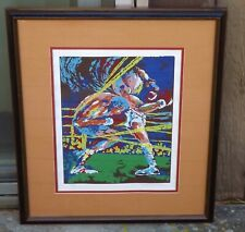 "Ted Tanabe ""ALI"" Muhammad Ali boxing serigraph signed Artists Proof w/COA framed"