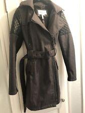 BCBG Jacket Coat With Hood Womens XS