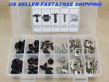 60 Engine Protection Pan Hardware Kit Pin Clip Nut For Audi A4 S4 For VW Passat