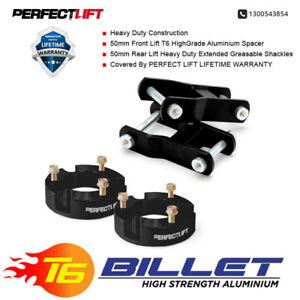 "Fit Mitsubishi Triton MQ 2""F and 2""R suspension LIFT KIT with greasable shackles"