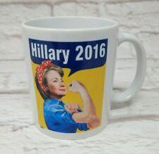 New listing Hillary Clinton 2016 as Rosie The Riveter 12oz Ceramic Mug Coffee Tea Cup Gift
