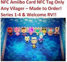 Animal Crossing Amiibo NFC Card ANY Villager Tag Sticker Marshal Ankha Marina