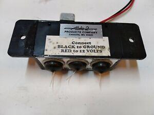 SHO-ME ABLE2 Outlet Box 14.0553, 12V DC  3 outlets