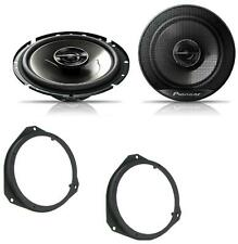 Vauxhall Corsa D 2006 on Pioneer 17cm Front Door Speaker Upgrade Kit 240W