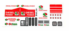 Custom 'Pre-Cut' stickers for LEGO 5563 Racing Truck ,models ,etc