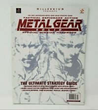 Metal Gear Solid Official Mission Handbook Strategy Guide