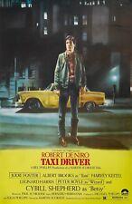 """Taxi Driver movie poster (a) : 11"""" x 17"""" - Robert De Niro, Martin Scorsese"""