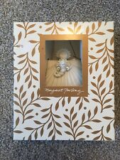"6"" Margaret Furlong Angel Shell Christmas Ornament 1995"