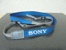 SONY ICF-2001D RADIO RECEIVER SHOULDER STRAP IN BLUE GENUINE SONY RECEIVER STRAP