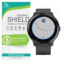 [8-Pack] For Garmin Vivoactive 3 Music Screen Protector RinoGear USA Made