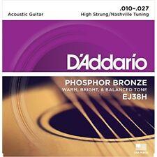 D'AddarioPhosphor bronze High-Strung / Nashville Tuning .010-.027 EJ38H
