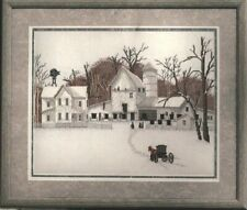 Cross Stitch Chart: Second Sunday (Amish Farm in the Snow) by Steve Polomchak