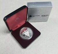 1982 Canada $1 One Dollar Elizabeth II Silver Proof Regina Centennial Coin   VB-