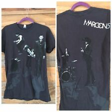 Maroon 5 Full Graphic 2 sided band shot tour Adult Small Adam Levine