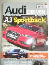 Audi Driver Apr 2013 A3 Sportback, A5 Sportback 2.0 TFSI Quattro